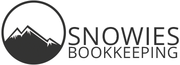 snowies book keeping logo